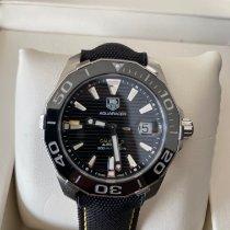 TAG Heuer Aquaracer 300M occasion 41mm Noir Date Caoutchouc