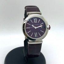 Bulgari Lucea Сталь 33mm Фиолетовый Римские