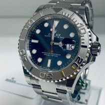Rolex Yacht-Master Steel 40mm Blue No numerals