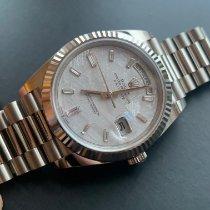 Rolex Day-Date 40 White gold 40mm Grey No numerals United Kingdom, Gateshead