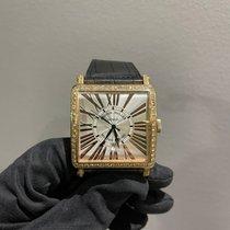 Franck Muller Master Square Oro rosa 53mm Plata Romanos