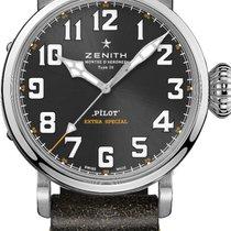 Zenith 03.2434.679/20.I010 Steel 2020 Pilot Type 20 45mm new United States of America, Texas, Houston