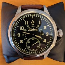 Alpina Startimer Pilot Heritage usados 50mm Negro