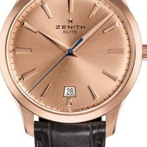 Zenith Captain Central Second Rose gold 40mm Gold No numerals United States of America, Texas, Houston