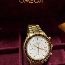Omega Speedmaster Reduced Oro giallo 39mm Bianco Senza numeri Italia, Bologna