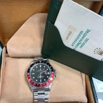 Rolex 16700 Steel 1991 GMT-Master 40mm pre-owned United States of America, New York, New York