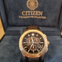 Citizen pre-owned Chronograph Black Sapphire crystal 10 ATM