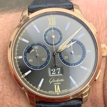 Glashütte Original Senator Chronograph Panorama Date Rose gold 42mm
