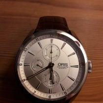 Oris Artix Chronograph Сталь 44mm Cеребро