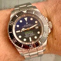 Rolex Sea-Dweller Deepsea Steel 44mm Blue No numerals Finland, HELSINKI