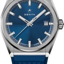 Zenith Defy Titanio 41mm Azul Sin cifras