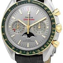 Omega Speedmaster Professional Moonwatch Moonphase Or/Acier 44.2mm Sans chiffres