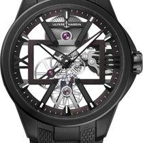 Ulysse Nardin 3713-260/BLACK Titanium 2020 Executive 42mm new