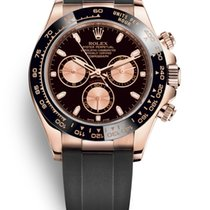 Rolex Daytona Rose gold 40mm Black United Kingdom, Edinburgh