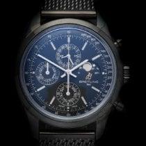 Breitling Transocean Chronograph 1461 Acero 43mm Negro Sin cifras
