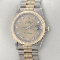Rolex Datejust Weißgold 31mm Champagnerfarben