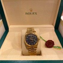 Rolex Day-Date 36 Gelbgold 36mm Gold Keine Ziffern Schweiz, Bissone
