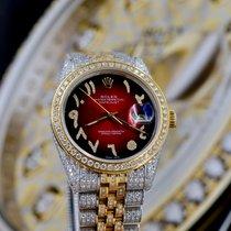 Rolex Datejust Oro/Acciaio 36mm Rosso Arabi Italia, Ravenna