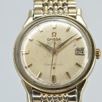 Omega Constellation Gold/Steel 34.0mm Champagne No numerals United States of America, California, Stockton