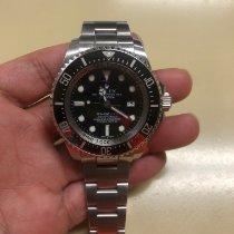勞力士 Sea-Dweller Deepsea 鋼 44mm 黑色 無數字