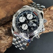 Breitling Chronomat Evolution Acero 44mm Negro