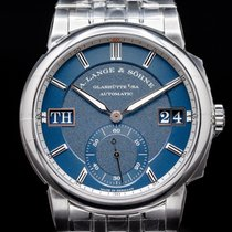 A. Lange & Söhne new Display back Luminous numerals Luminous hands Screw-Down Crown Steel Sapphire crystal