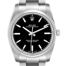 Rolex Oyster Perpetual 34 Steel 34mm Black United States of America, Georgia, Atlanta
