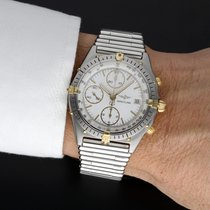 Breitling Chronomat Acciaio 39mm Bianco Senza numeri Italia, Cascina Fraz. Navacchio (PI)