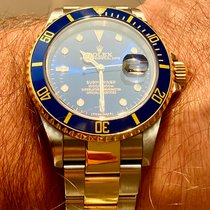 Rolex Submariner Date Gold/Steel 40mm Blue No numerals Finland, Helsinki