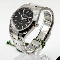 Rolex Datejust Staal 41mm Zwart