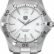 TAG Heuer Aquaracer 300M Steel 39mm White Arabic numerals United States of America, California, Moorpark