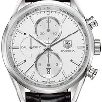 TAG Heuer Carrera Calibre 1887 Steel 41mm Silver United States of America, California, Moorpark