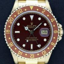 Rolex GMT-Master Gelbgold 40mm Braun Schweiz, Geneva