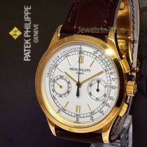 Patek Philippe Chronograph Yellow gold 39.4mm Silver United States of America, Florida, Boca Raton