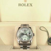Rolex 118206 Platinum 2017 Day-Date 36 36mm new