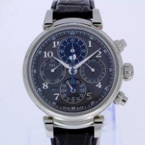 IWC Da Vinci Perpetual Calendar ny 2020 Automatisk Kronograf Klocka med originallåda och originalhandlingar IW392103