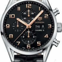 TAG Heuer CV2A1AB.FC6379 Steel 2020 Carrera Calibre 16 43mm new United States of America, New York, New York