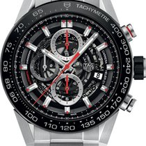 TAG Heuer Carrera Calibre HEUER 01 new Automatic Chronograph Watch with original box and original papers CAR2A1W.BA0703