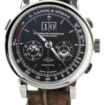 A. Lange & Söhne pre-owned Manual winding 42mm Black Sapphire crystal 1 ATM
