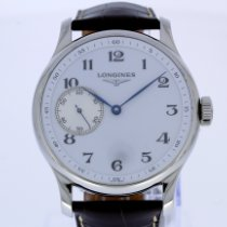 Longines Master Collection Steel 47.5mm White Arabic numerals