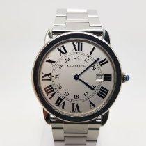 Cartier Ronde Solo de Cartier Сталь 36mm Cеребро Римские