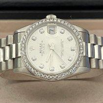 Rolex Datejust Platino Plata