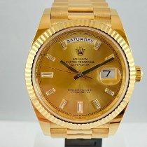 Rolex Day-Date 40 Geelgoud 40mm Goud Nederland, Kerkrade