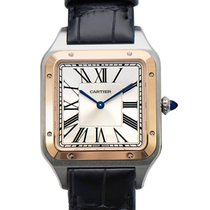 Cartier Santos Dumont new 2021 Manual winding Watch with original box and original papers W2SA0017