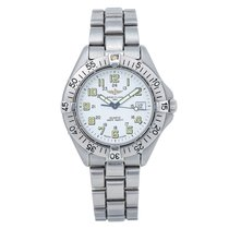 Breitling Colt Quartz Steel 38mm White Arabic numerals United States of America, New York, New York