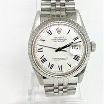 Rolex Datejust Acier 36mm Blanc Romains France, pezenas