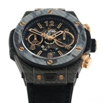 Hublot Big Bang Unico 411.YT.1198.NR.1T116 Très bon Carbone 45mm Remontage automatique