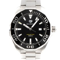 TAG Heuer pre-owned Quartz 43mm Black Sapphire crystal