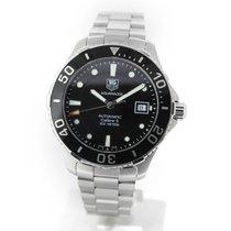 TAG Heuer Aquaracer 300M occasion 41mm Noir Date Acier