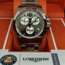 Longines Acier 41mm Quartz L3.700.4.79.6 occasion France, Saint Germain en Laye